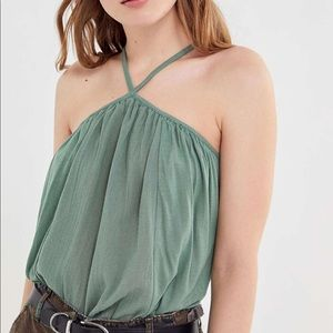 NWT URBAN OUTFITTERS Y-neck Tunic Top